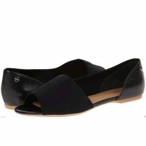 Calvin Klein Black Women's Rezi Two-piece Flats